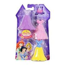 Modas Disney Princess Poco Unido Royal - 3 Magiclip Vestidos