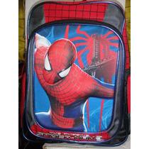 Mochila Escolar Primaria Spiderman Original