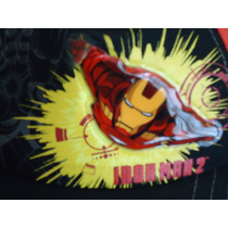 Gorra Abierta De Iron Man Para Niño Marvel Disney Avengers