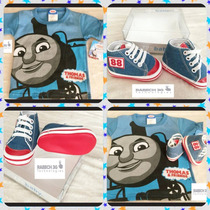 Zapatos 725 Para Bebe Y Playera Thomas & Friends