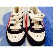 Tenis Para Bebe De 0 A 3 Meses Nike Y Reebok 100% Originales
