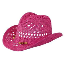 Gorra Ctm® Vaquera Sombrero Para Las Muchachas Con Moldeado