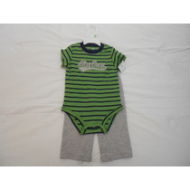 Carters Conjunto 2 Pzas Playera Y Pants 100% Cotton 18 Meses