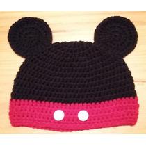 Mickey Mouse Gorro Tejido