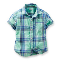 Camisa Manga Corta Para Bebe Carter