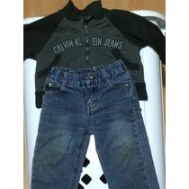 Conjunto 1 Pantalon Y 1 Chaqueta Calvin Klein 12m