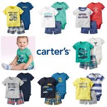 Ropa Bebe Carters Conjuntos Short Niño 3 Pzas En Descripcion