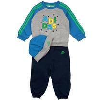 Pants Sudadera Y Gorro Entrenamiento Niñ0 Bebe Adidas Ab6988