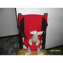 Asiento De Seguridad Unisex Para Bebe Niño Niña Rojo/negro,