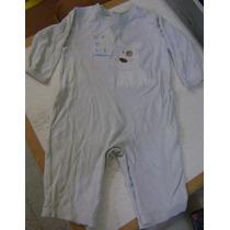 Mameluco Sin Pies Azul Para Bebe Niño 6 Meses Baby Creysi