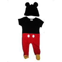 Mameluco Disfraz Bebe Mickey Mouse *disney Baby Original*