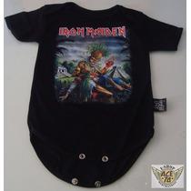 Iron Maiden Pañalero Bebe Mod Sacrifice 12-24 Meses Danbr68