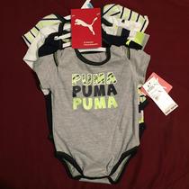 Pack 5 Pañaleros Puma Original 6-9 Meses Bebe Imp. Eu.