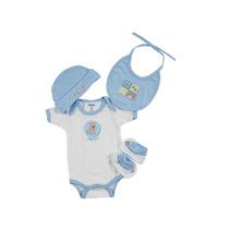 Kit Bebe Paseo De 0 De 3 Meses-azúl Ropa Bebe Baby Mink