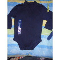 Pañalero Bebe/ Niño Tipo Camiseta Manga Larga Cuello Alto