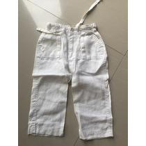 Pantalones De Lino Blancos