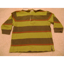 Camisa Manga Larga Verde Bebe Niño 18 Meses