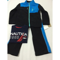Pack Pants Reebok Y Playera Nautica Originales Talla 3