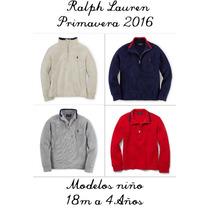 Sweater Algodon Ralph Lauren Niño - 1x499 Ó 2x799