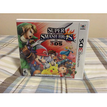 Super Smash Bros Para Nintendo 3ds Nuevo Sellado
