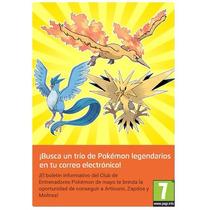Códigos Aves Legendarias Con Ho - Descarga Del Trío De Kanto