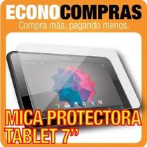 Mica Protectora Para Tablet´s De 7 100% Nuevas!!!!!!!!!!!!!