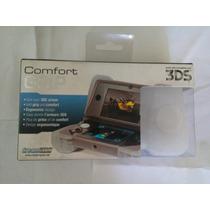 Comfort Grip 3ds Nintendo Nuevo Funda Silicon Blanco