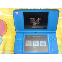 Nintendo Dsi Xl Blu Azul Con Cargador Y Pluma