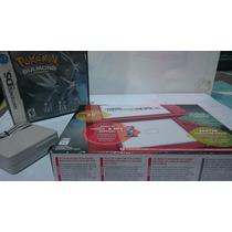 New Nintendo 3ds Xl Rojo Nuevo Con Pokemon Diamante