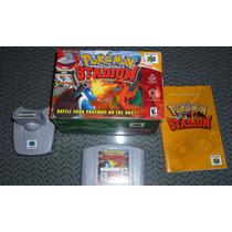 Pokemon Stadium Con Caja Y Accesorio Para Nintendo 64