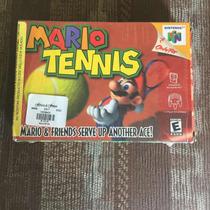 Mario Tenis 64 ( Seminuevo- Completo)