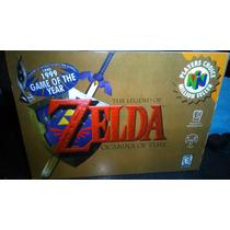 Caja Juego Zelda Ocarina Of Time Nintendo 64