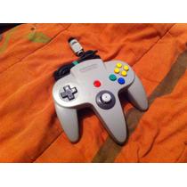 Control De Nintendo 64 Jostick Nuevo Original Con Garantia!!