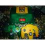 Nintendo 64 Edicion Donkey Kong 64+control Amarillo+6 Juegos