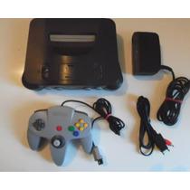 Consola Nintendo 64 N64 Funcionando Al 100 Con Un Juego