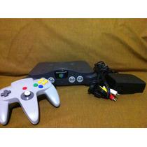 Nintendo 64 N64 Consola Completo Con Un Juego, Garantía
