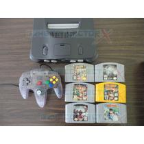 Nintendo 64 Con 6 Juegos Smash Bros, Resident Evil Aprovecha