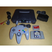 Nintendo 64 Completo, 1 Control + Juego Isss64 + Memory Card