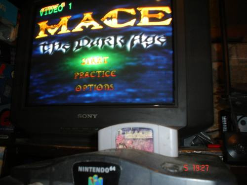 Nintendo 64-mace The Dark Age