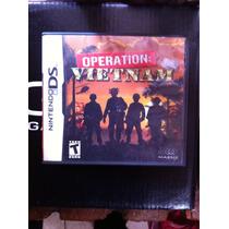 Nintendo Ds Operation Vietnam Guerra Tácticas Estrategia