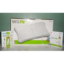 Wii Fit Board + Juego Wii Fit Y Wii Fit Plus (como Nuevo)