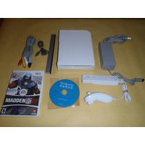 Nintendo Wii Consola Completa + 2 Juegos Retrocompatible Cub