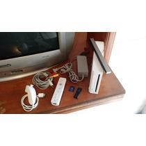 Nintendo Wii Hackeado + Usb 32gb Con Juegos