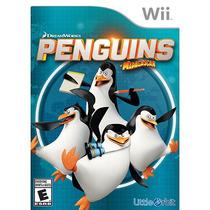 Pingüinos De Madagascar Nintendo Wii