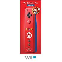 Wii Remote Plus Mario Edition Para Nintendo Wii / Wii U