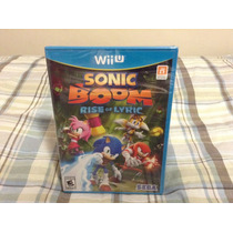Sonic Boom Rise Of Lyric Nuevo Sellado Wii U
