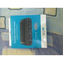 Adaptador Controles Game Cube Para Wii U Original Nuevo