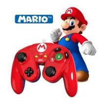 Wired Fight Pad Mario Bros Nintendo Wiiu Gaming Control