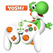Wired Fight Pad Yoshi Wii U