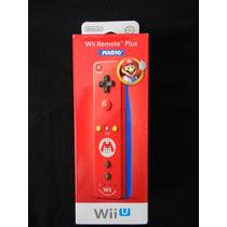 Control Wii / Wii U Remote Plus Mario Edition Original Nuevo
